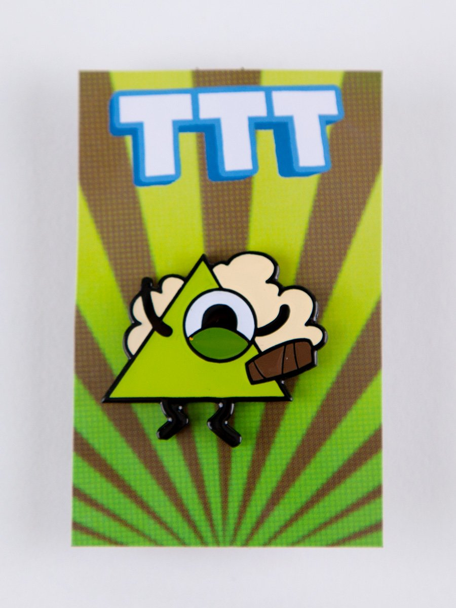 Barry TTT Character Pin