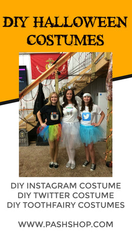 How To Make An Instagram Twitter Toothfairy Costume Diy