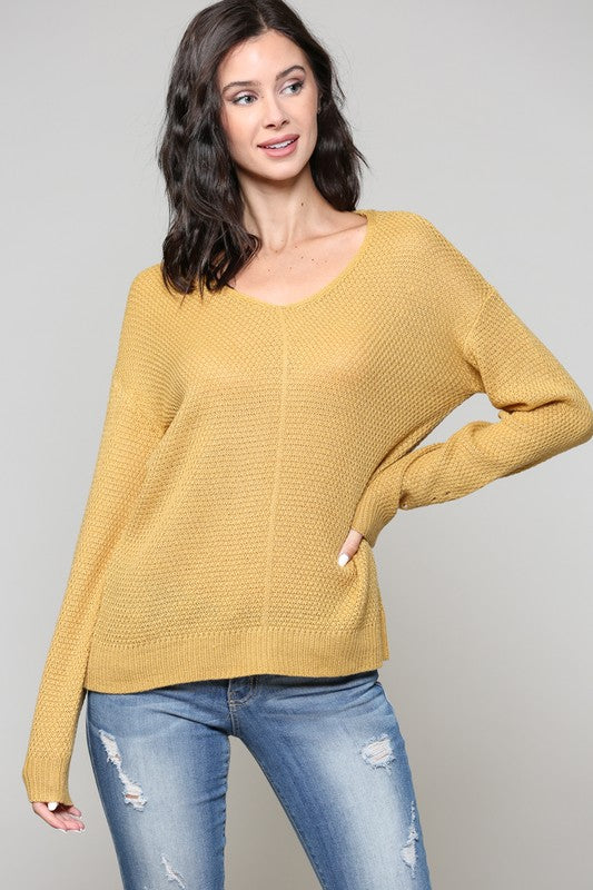 Buttercup Breezy Sweater