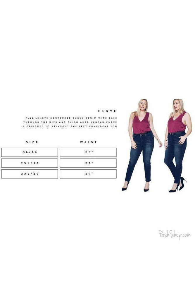 SALE KAN CAN WESTON KENNEDY CAPRI JEAN- PLUS SIZE