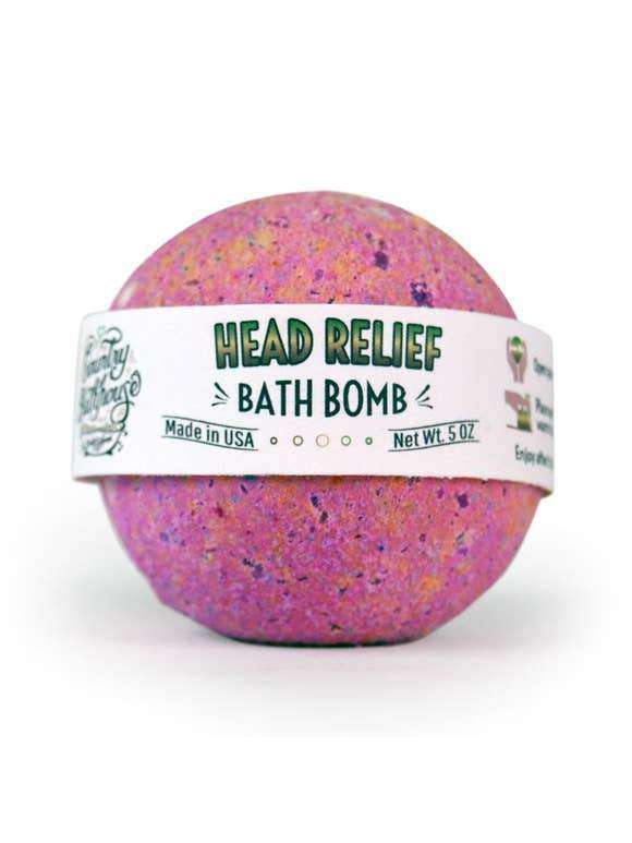 Large Bath Bomb - Head Relief