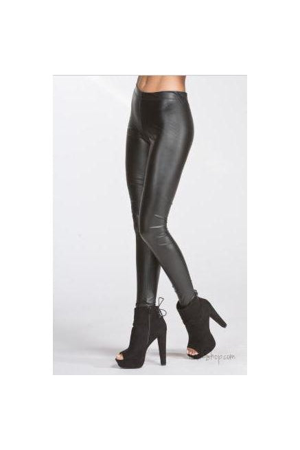 Pleather Fitted Leggings