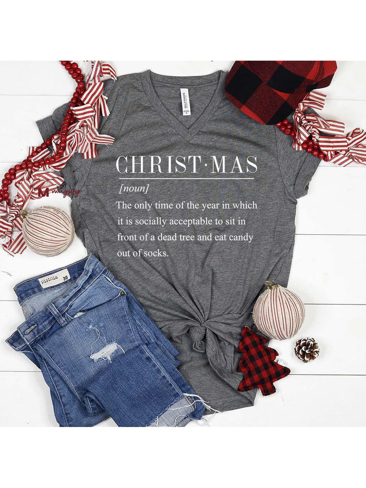 Christmas Funny Definition Shirt