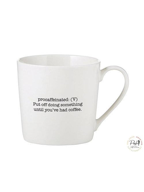 Cafe Coffee Mug - PROCAFFEINATED