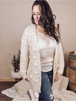 Call it Cozy Ivory Cardigan