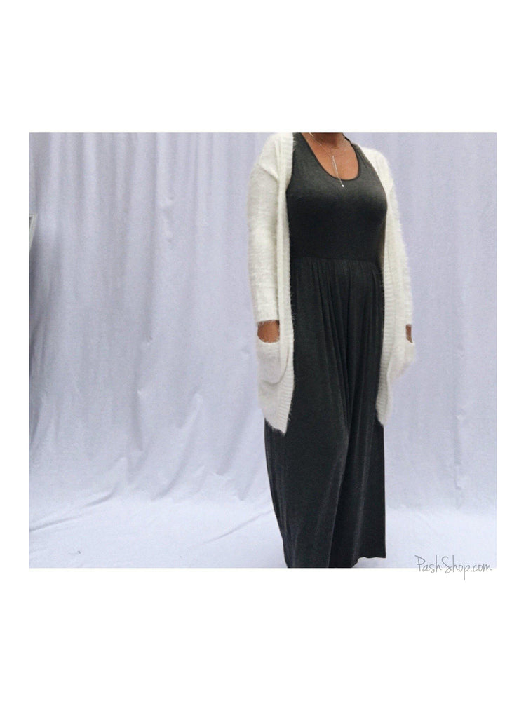 SALE - The All Day , Everyday Comfort Casual Tank Maxi Dress - Curvy Girls