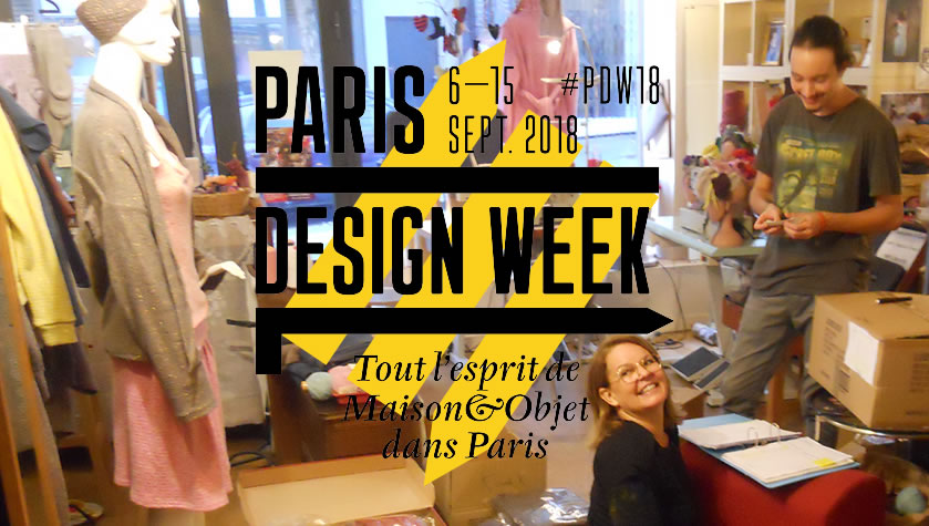 La mode éthique et responsable s'invite à la Paris Design Week 2018