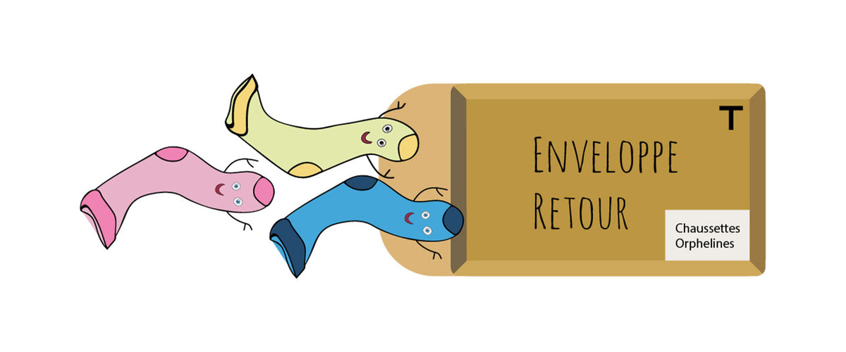 Chaussettes Orphelines invente l'easy recycling !