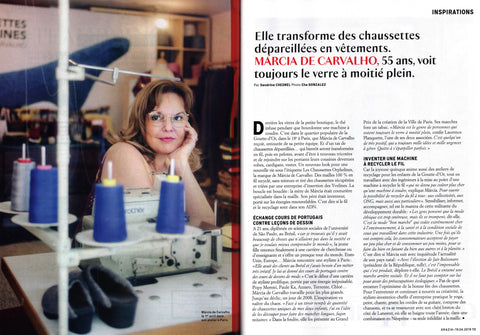 Interview Marcia de Carvalho - Grazia