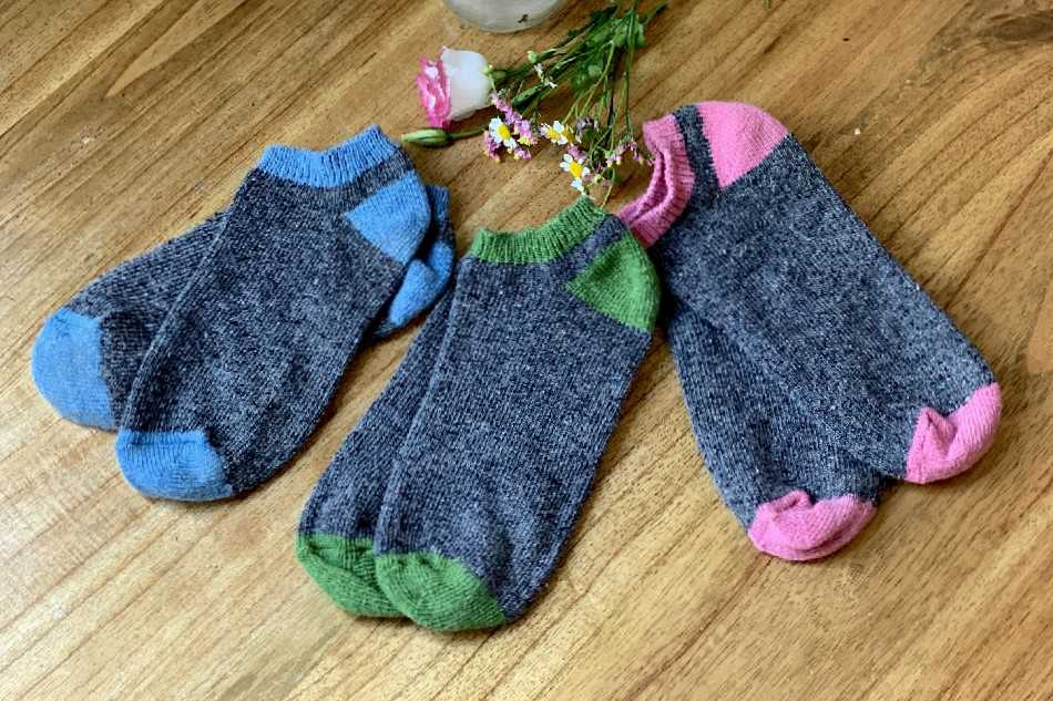 Chaussettes invisibles SUMMER bicolores