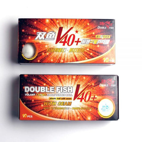 DoubleFish V40+1 Stars Table Tennis Ball