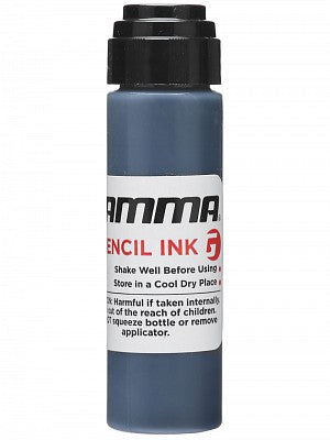 GAMMA Racket Stencil Ink