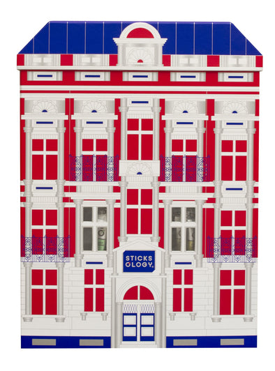 Sticksology Hong Kong Limited London style 50 Sticks Gift Set  Christmas Red/ Resolution Blue