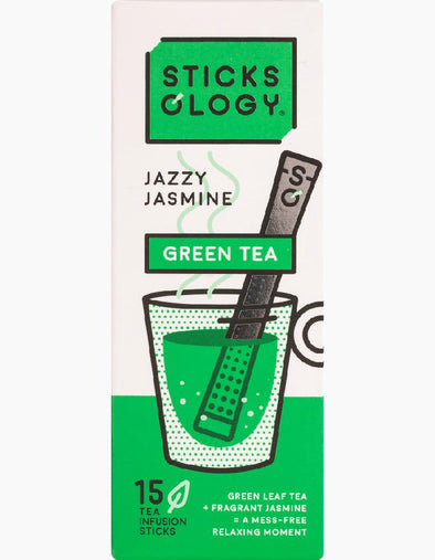 Sticksology Jazzy Jasmine Green Tea