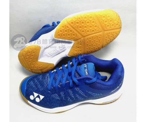 JUNIOR badminton shoes SHBA3JREX BLUE