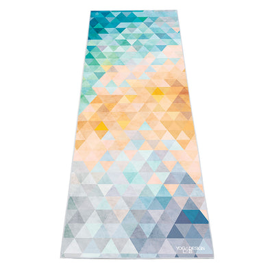 Yoga Design Lab Power Grip Mat Towel Tribeca Flow