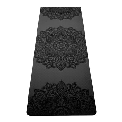 Yoga Design Lab Flow Mat 6mm – Mandala Charcoal