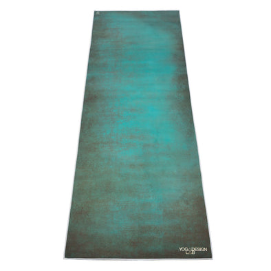 Yoga Design Lab Yoga Mat Towel Aegean Green