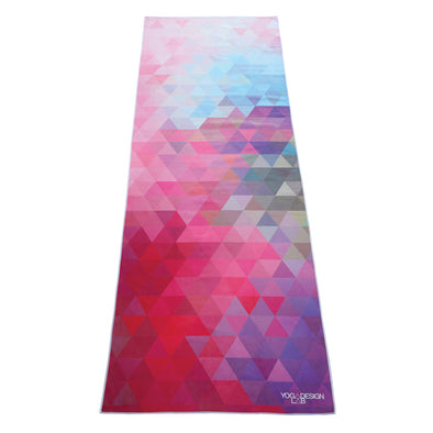 Yoga Design Lab Power Grip Mat Towel Tribeca Sand
