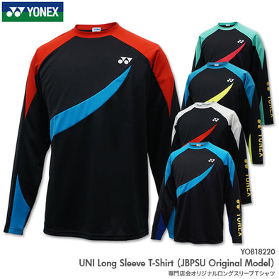 Yonex Japan UNI Long Sleeve T-shirt (JBPSU Original Model) YOB18220