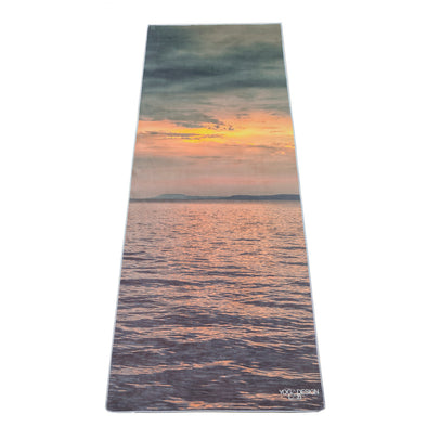 Yoga Design Lab Yoga Mat Towel Sunrise