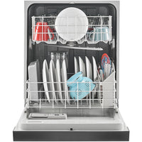 AMANA ADB1400AGS Dishwasher with Triple Filter Wash System-Stainless steel front and slate gray plastic tank