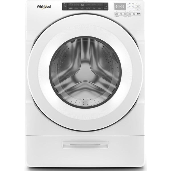 WHIRLPOOL WFW5620HW 4.5 cu. ft. Closet-Depth Front Load Washer with Load & Go™ Dispenser-Free Delivery, Installation, New Fill Hoses and Removal of old washer