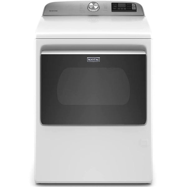 MGD6230RHW Smart Capable Top Load Gas Dryer with Extra Power Button-7.4 cu. ft. -5 Years Parts and 5 Years Labor Factory Guarantee-Free Delivery, Installation, Flex gas line and Removal of old dryer
