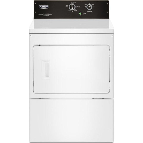 MAYTAG MEDP575GW 7.4 cu. ft. Commercial-Grade Residential Electric Dryer-5 Years Parts and 5 Years Labor Factory Guarantee-Free Delivery, Installation, Power Cord and Removal of old dryer