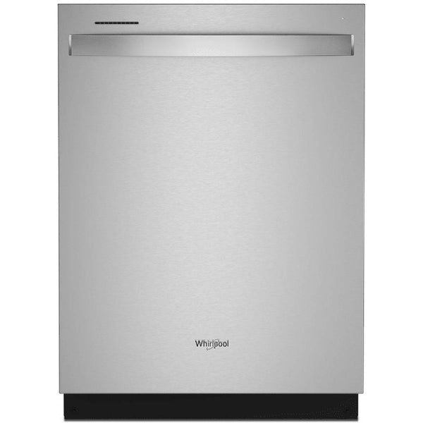 WHIRLPOOL WDT750SAKZ Large Capacity Top Controls Dishwasher with 3rd Rack-Stainless steel front and tank