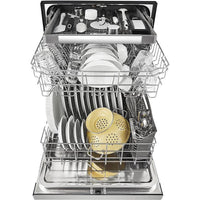 WHIRLPOOL WDF590SAJM Stainless Steel Front and Tank Dishwasher with Third Level Rack