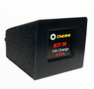 Color Crypto Coin Price Ticker Display - Crypto Coin Display