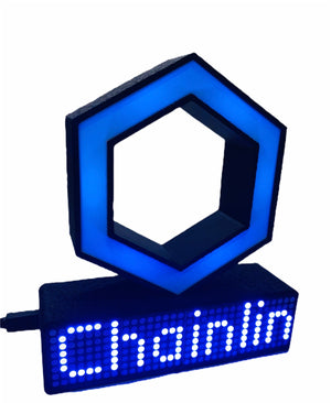 CHAINLINK Crypto Coin Price Ticker Display Wifi - Crypto Coin Display