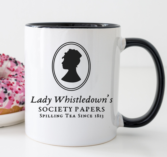 Mugs, tops, cards and bookmarks gifts inspired by Bridgerton TV series