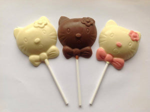 Hello Kitty Chocolate Lolly