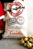 Personalised Santa Sack Tenner Tuesday - free postage