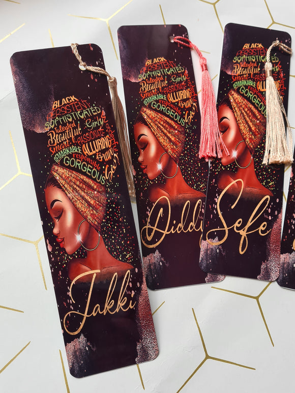Black Queen Affirmation Bookmark