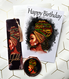 Black Queen Affirmation Letterbox Gift