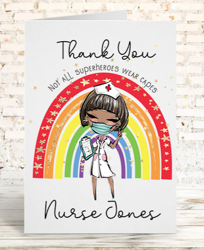 Healthcare Workers Thank You Card
