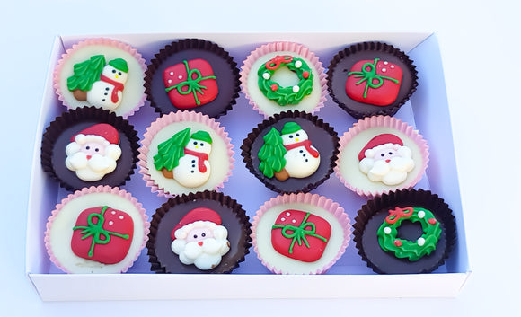 Christmas Mini Cupcakes Gift Box