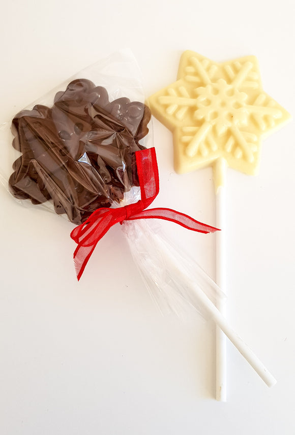 Christmas Snowflake Lolly