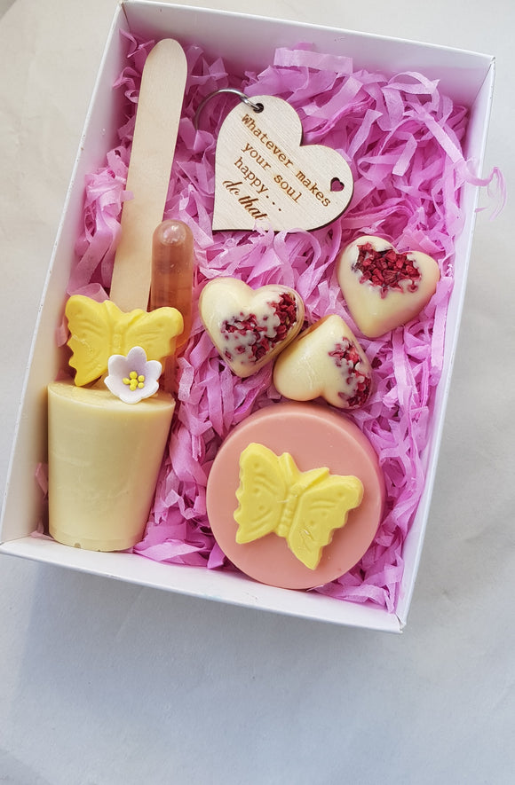 Butterfly Chocolate & Key Ring Treat Box
