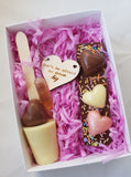 Chocolate Bar & Key Ring Treat Box