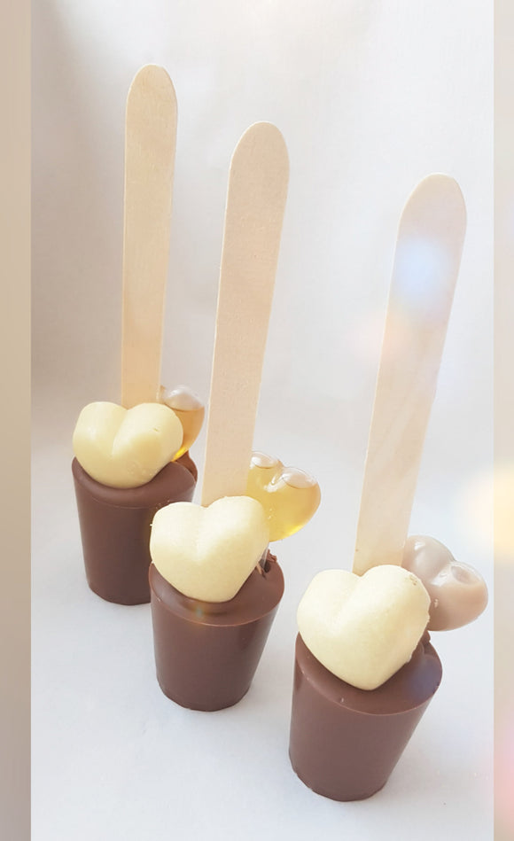 Heart Hot Chocolate Spoon