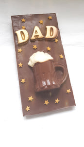 Beer Mug Chocolate Bar