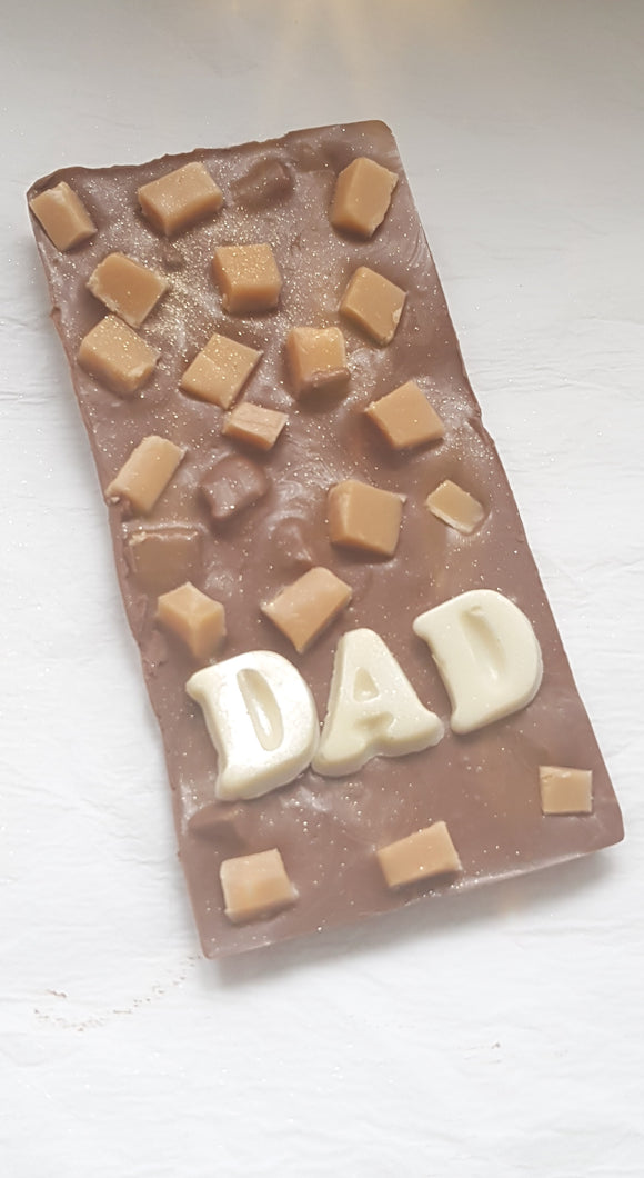 Dad Chocolate Fudge Bar