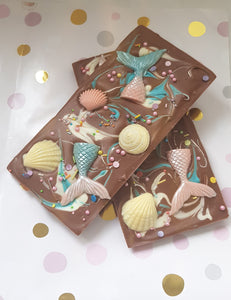 Mermaid Tail Chocolate Bar