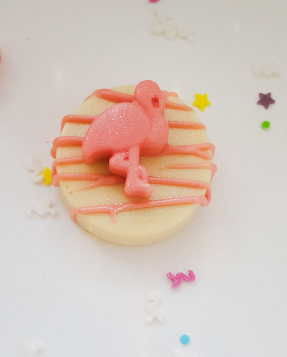 Flamingo chocolate Covered Oreos