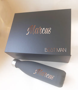 Personalised Groomsmen Box Gift set