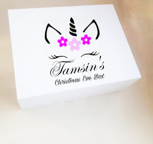 Unicorn Personalised Christmas Eve Box